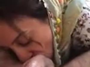 Hijab turk sakso blowjob