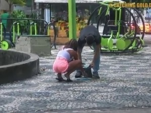 18 Yo Brazilian Teen Gets FUCKED HARD Picked Up From The Street After She...