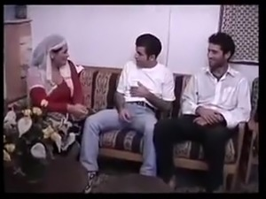 Turkish wife fucked by husband and his friends