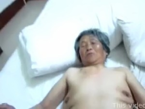 Chinese granny threesome free