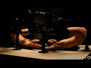 Mistress Missogyny had fun tormenting both Krysta Kaos and Ladie Lane in one...