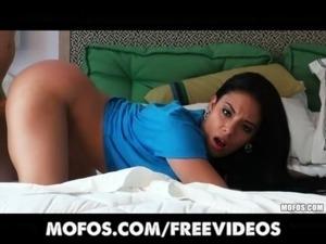 Bubble butt Latina gets fucked POV free