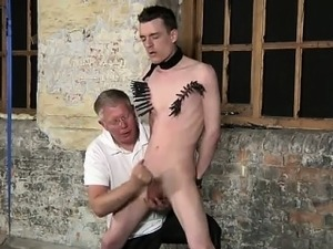 Twink video With his mushy ball-sac tugged and his knob stro