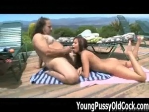 Ron Jeremy Bangs Teen Tasia Banx - Young Pussy Old Cock free