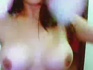 Asian Ladyboy Masturbates