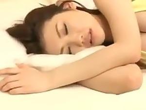 Japanese girl fucked while sleeping