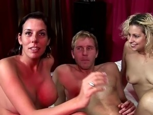 Real dutch furies ffm funtime till he cumshots