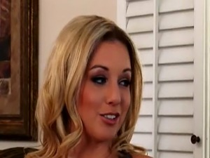 Manuel fucks Kylie Ireland and they're caught by Kayden Kross, came for her...