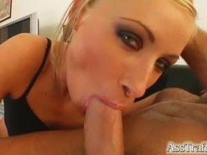 H is for Horny! This sexy braces wearing babe gets her horniness fixed by a...