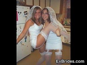 Brides Naughty in Public