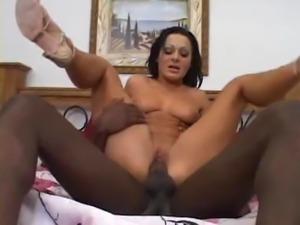 Sandra Romain Interracial Anal