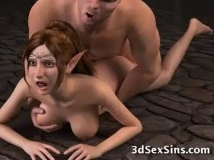 Ogres Banging 3D Babes! free