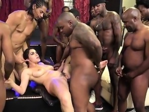 Busty gf creampie accident