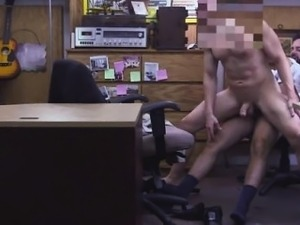 Straight black guys fuck to each other at office gay first t