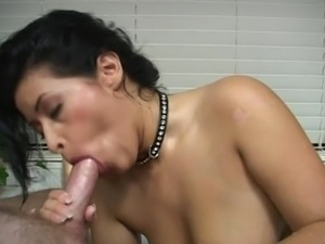 Hot tited spanish mother gives hand job