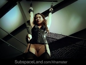Submissive Slave Julie Skyhigh Fucked In Bdsm Cum Swallow