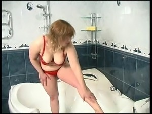 cute chubby in the shower
