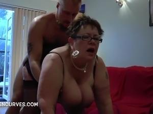 Watch Football or watch my friend fuck a Granny tough choice
