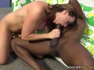 BBC Anal Fucking with Chanel Preston and Mandingo