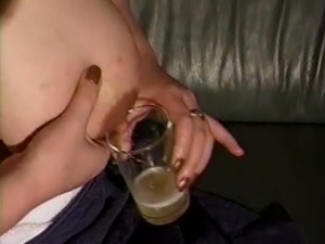 Mom's huge lactating boobs need relief 11