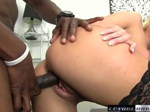Black Cocks Matter - Teen Kate England rides her first BBC a