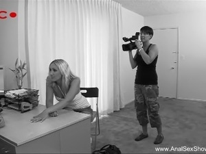 Model Visits Casting Agent For Anal Sex Tryout
