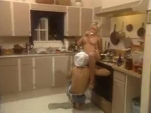 houston fucking in the kitchen