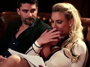 Phoenix Marie fucks her husband's brother