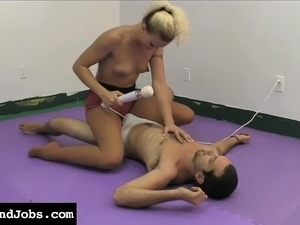 Sexy babe JC Simpson is an expert in the arts of teasing and pleasing