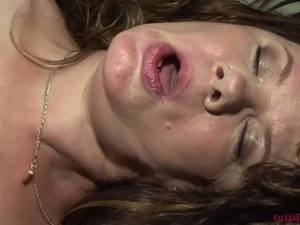 slutty chunky hairy euro amateur mature on my porn casting