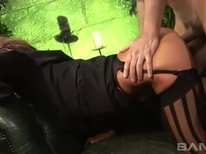 Horny raven haired BBW Jasmine Black and other yummy tramps take part in...