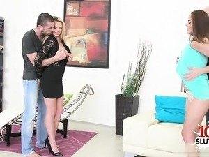 Hot wife sex with swap