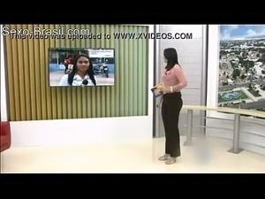 Rep&oacute_rter da Globo Que Apresenta o Notici&aacute_rio Bom Dia Brasil...