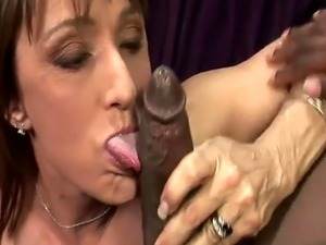 Jillian Foxxx tried a black cock