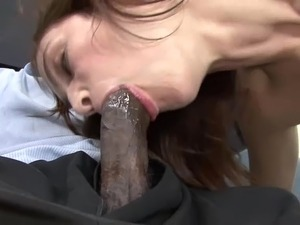 Black dick for insatiable brunette sex goddess Faith Leone