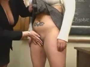 Busty bbw lesbians strapon fucking big tits