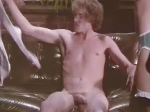 vintage retro big cock blowjob cumshot facial lingerie suck
