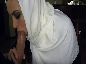 Arab naked first time Hungry Woman Gets Food and Fuck
