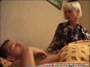 My Sex Piercings Mature slut with pierced pussy anal