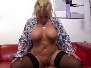 German mutter Gina suck and fuck young son
