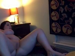 BBW anal dildo hd