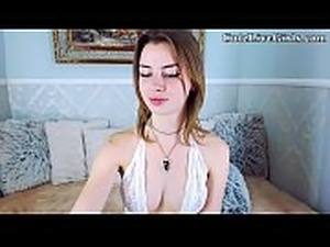 18 College Chat POV CuteLiveGirls.com Naughty Babe Plays P1