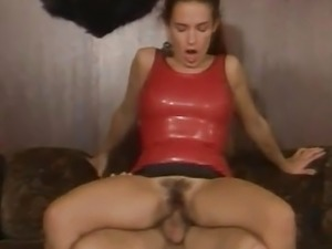 Red Latex Orgy Under The Elk Head