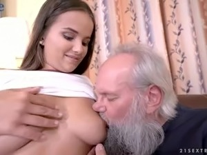 Tanned babe Olivia Nice loves a good fuck and she's sexy as hell