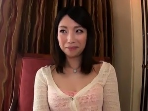 Lustful Japanese milf has two boys drilling her hairy slit