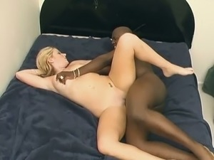 Welsh blond head with juicy boobs Sophie Dee goes interracial for fun