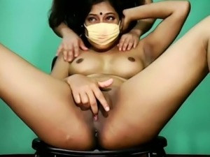 This Indian camgirl is a bit too shy but I would still fuck her