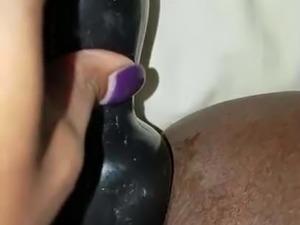 Ebony Anal Plug