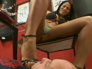 Foot Slave Humiliation
