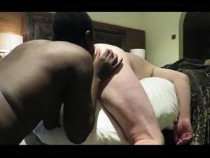 Black Slut Rimming White Guys Ass Hole!